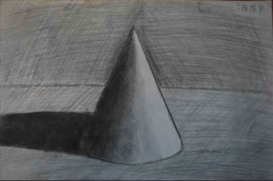 素描画 《几何体》